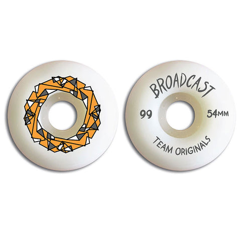 Broadcast Wheels Team Originals 54mm