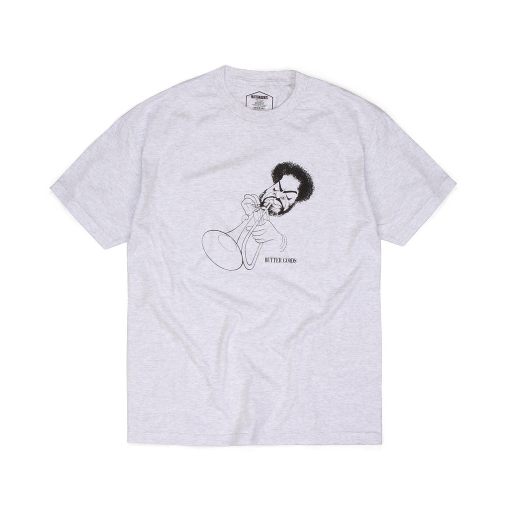Butter Goods Byrd T-shirt - Ash Heather