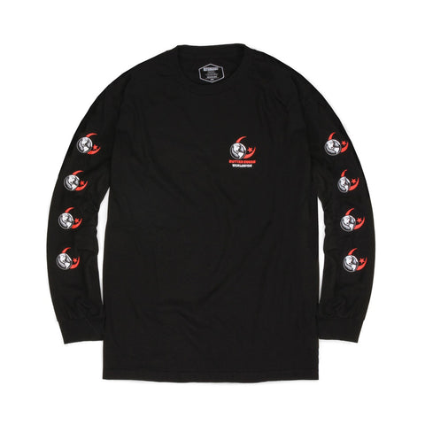 Butter Goods Crescent Long Sleeve Tee - Black