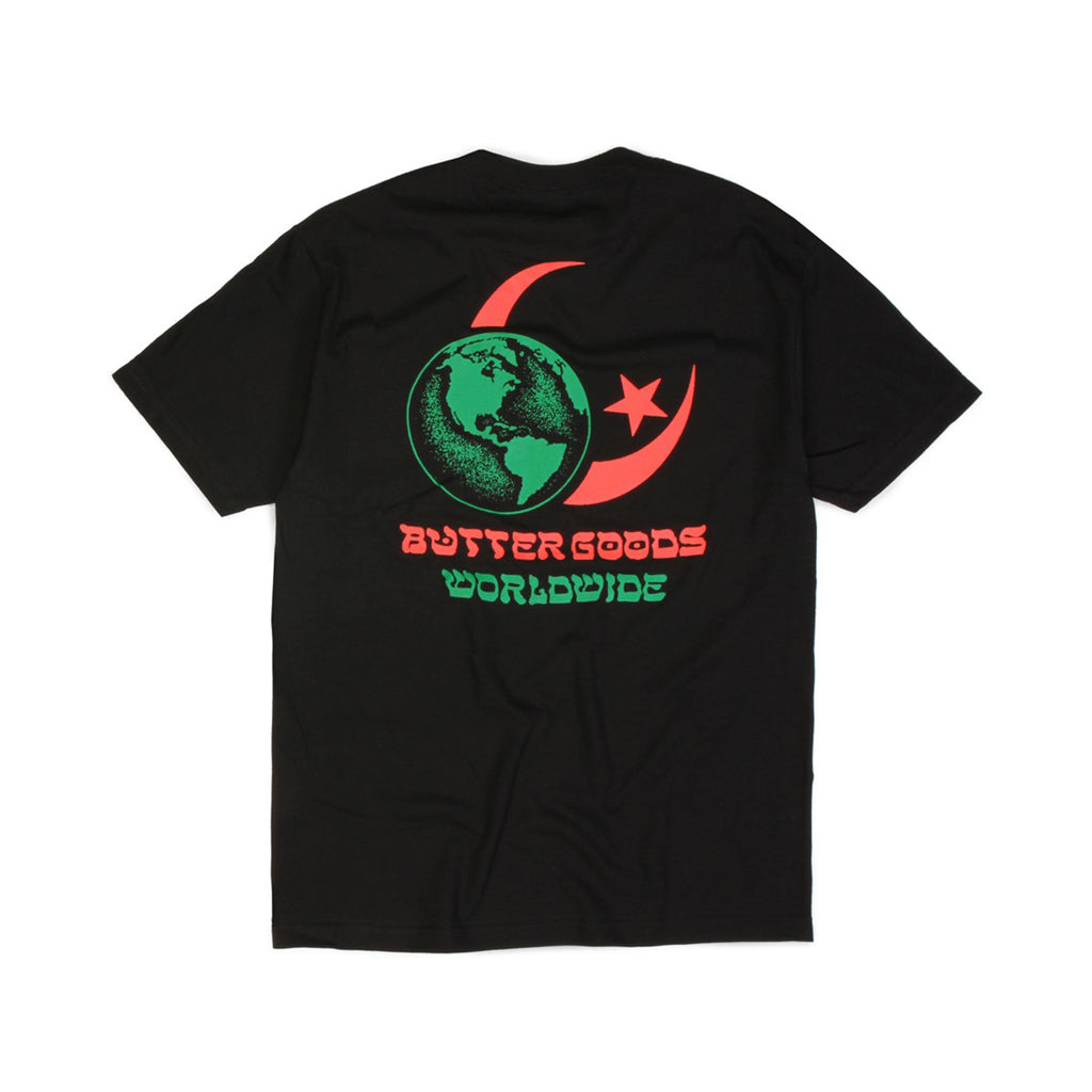 Butter Goods Crescent T-shirt - Black