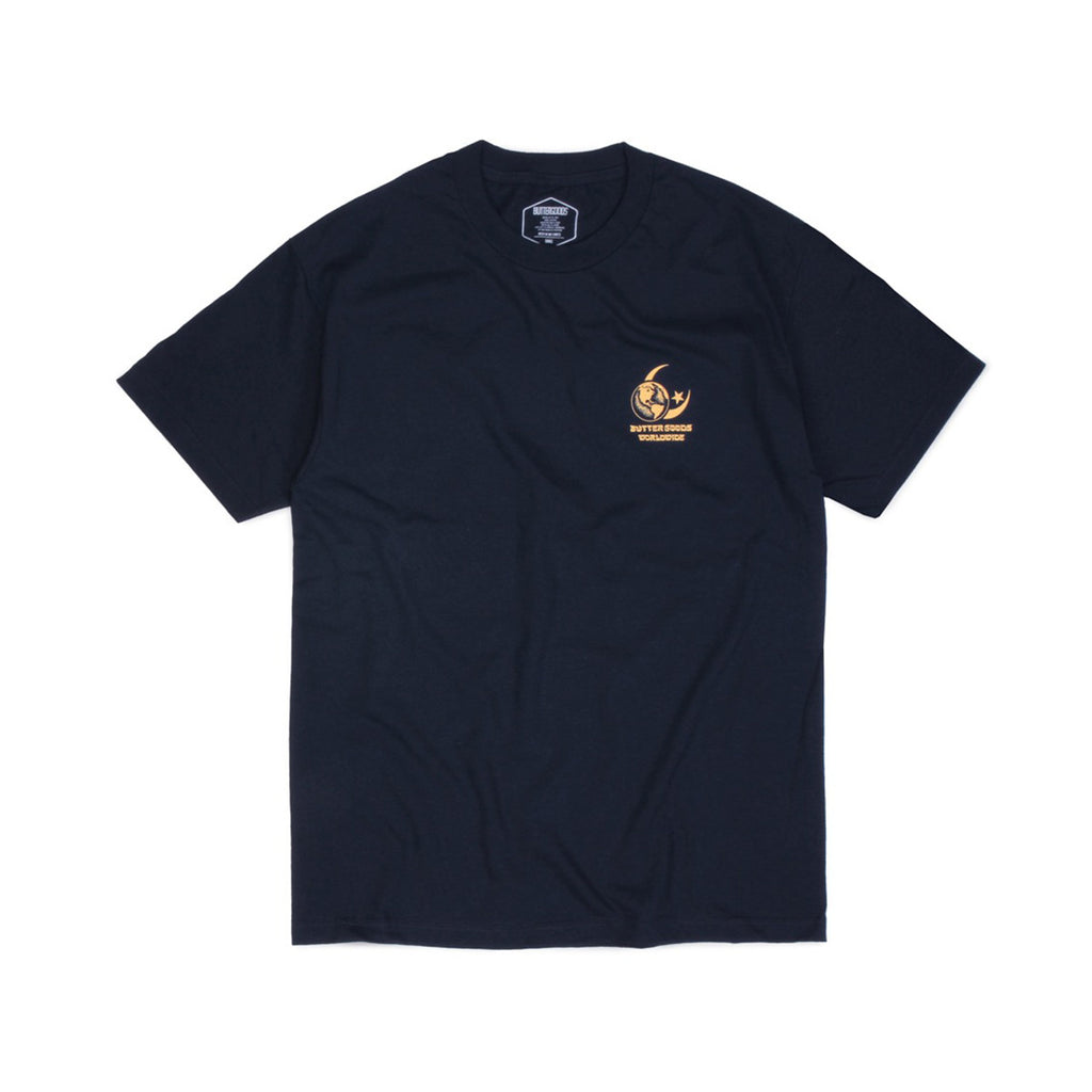 Butter Goods Crescent T-shirt - Navy