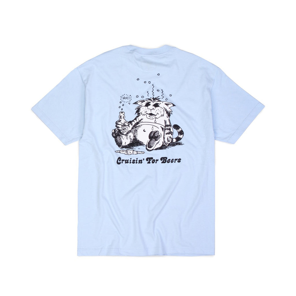 Butter Goods Cruisin T-shirt - Powder Blue