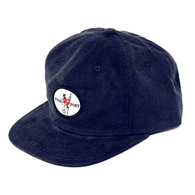 Pass Port Flag Bearer Chord Hat - Navy