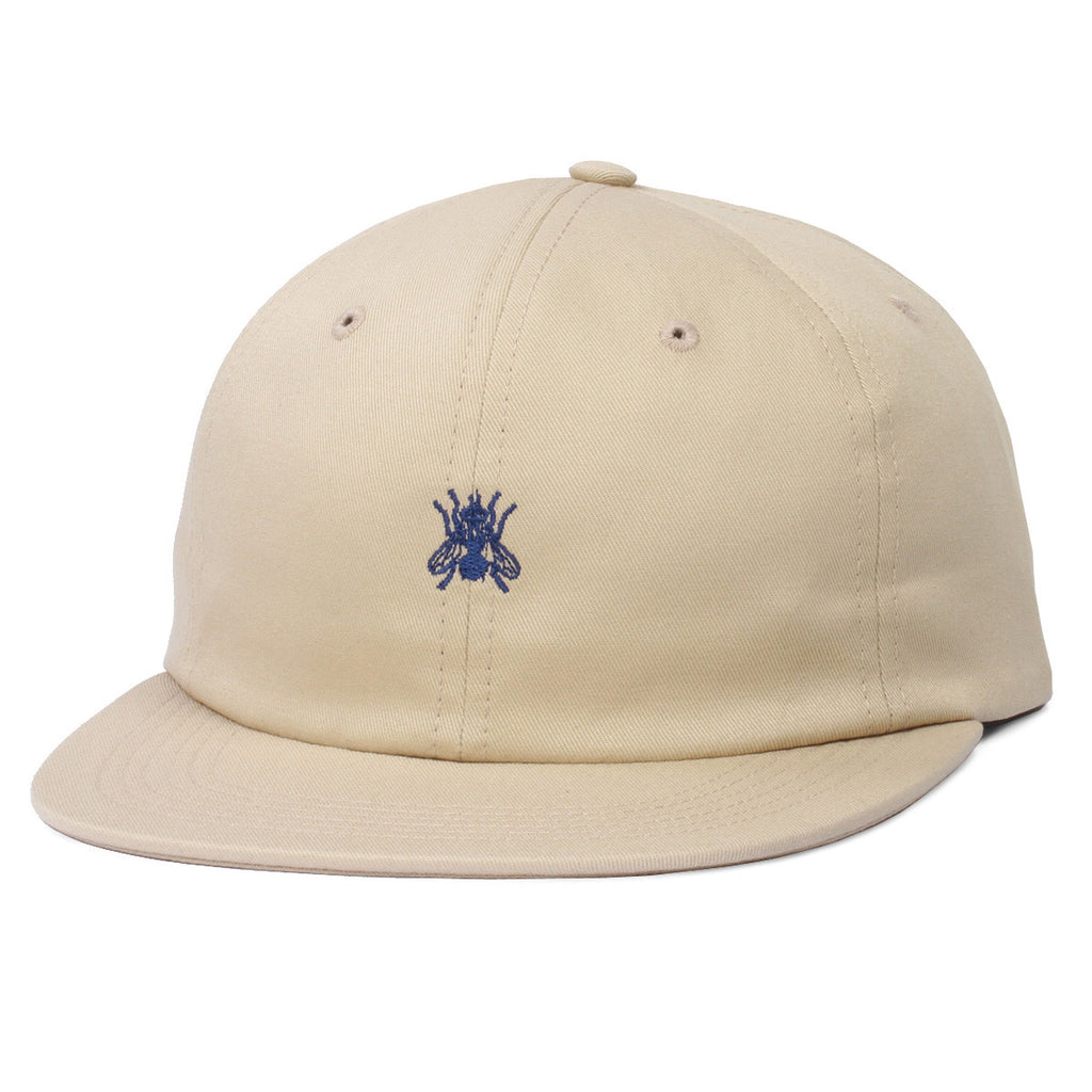 Butter Goods Fly 6 Panel Polo Hat - Khaki