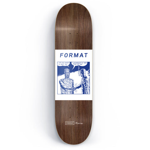 Format Skateboards x Marra - Leadership Skateboard Deck