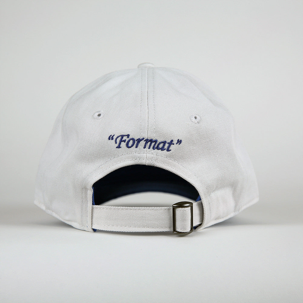 "Format ""Einstein"" Polo Hat - White"