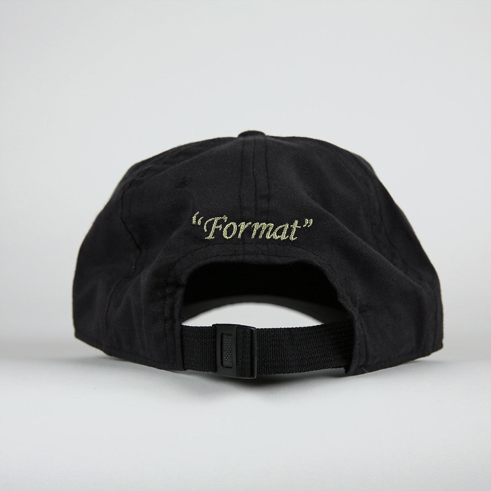 "Format ""Einstein"" Polo Hat - Black"