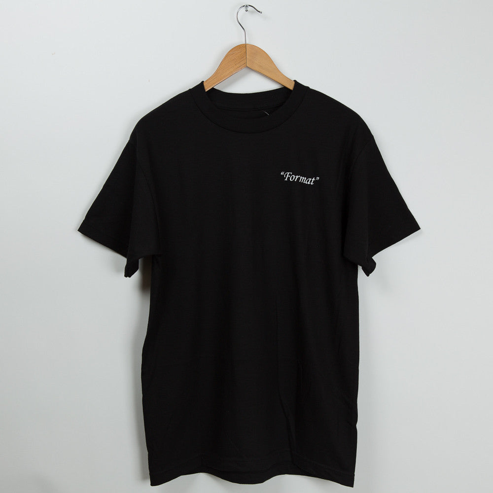 "Format Systems ""Monolith"" T-Shirt - Black"