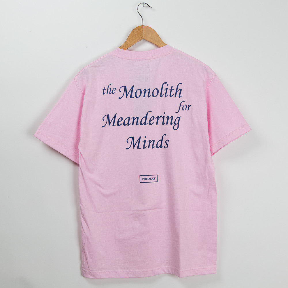 "Format Systems ""Monolith"" T-Shirt - Pink"