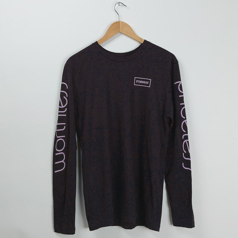 "Format Systems ""Array"" Long Sleeve Tee - Black"