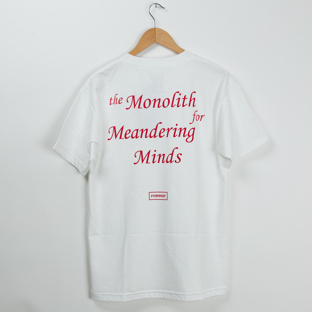 "Format Systems ""Monolith"" T-Shirt - White"
