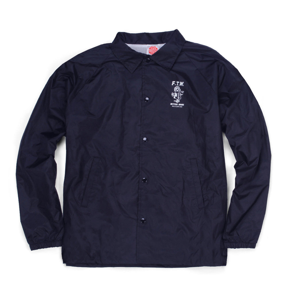 Butter Goods FTW Coaches Jacket - Navy