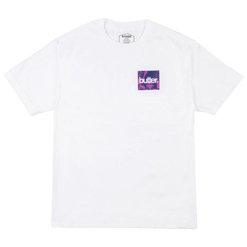 Butter Goods OG Logo Headhunter S/S Tee - White