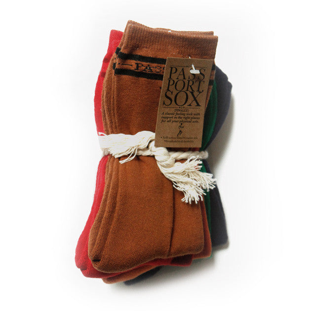 Pass~Port Socks Hi Sox (5 Pack) - White