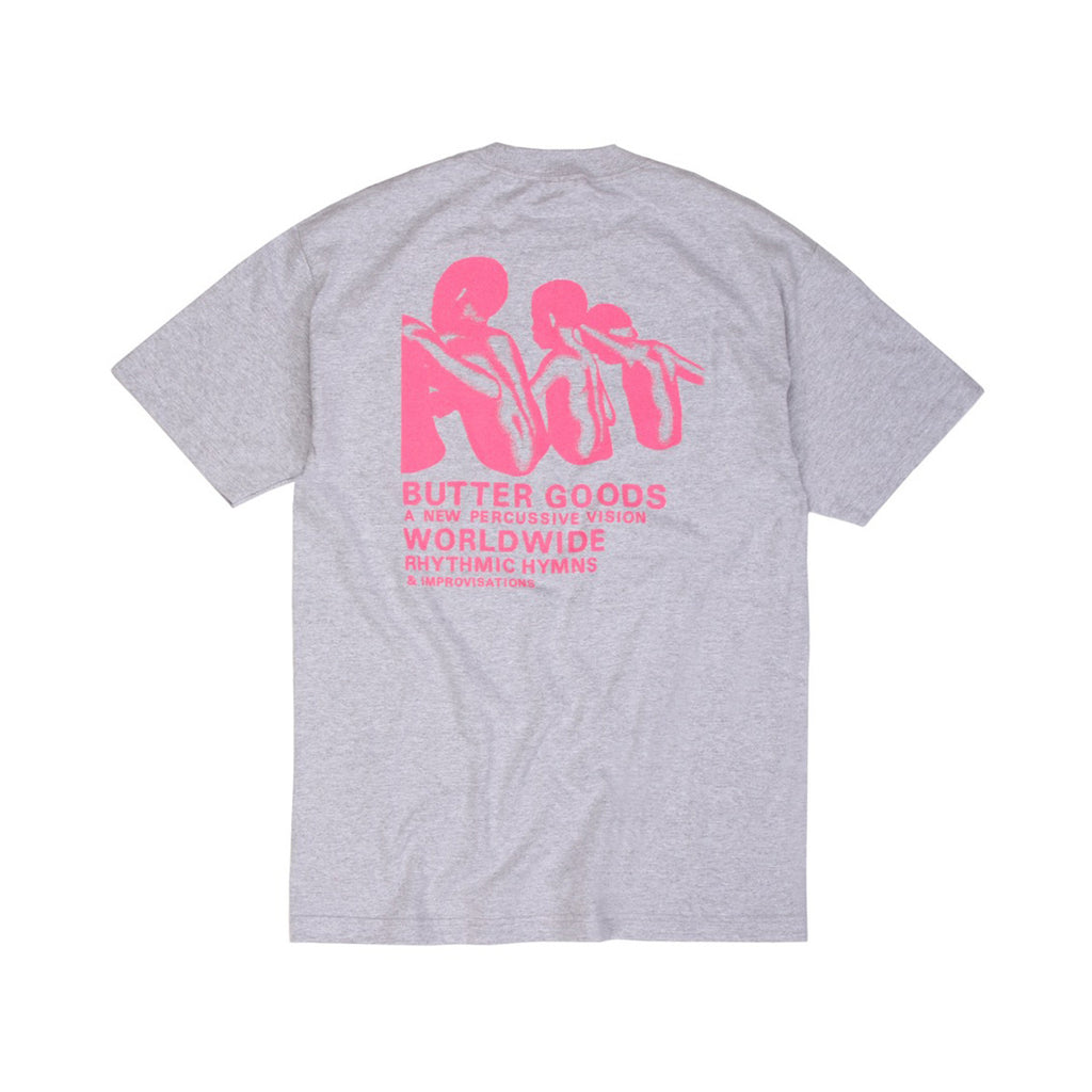 Butter Goods Rythmic Hymns T-shirt - Ash Heather