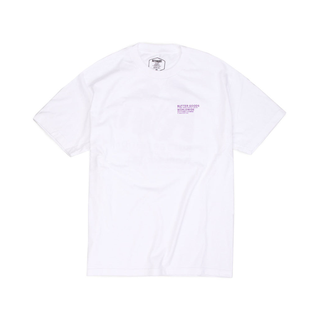 Butter Goods Rythmic Hymns T-shirt - White
