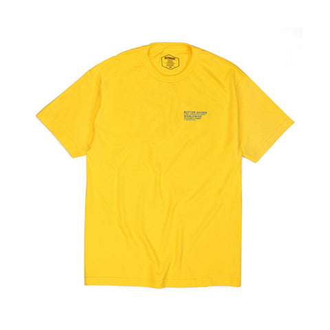 Butter Goods Rythmic Hymns T-shirt - Yellow