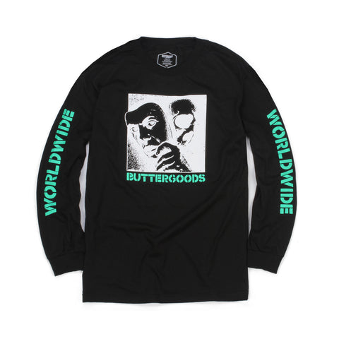 Butter Goods Mask Long Sleeve Tee - Black