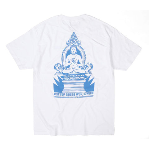 Butter Goods Meditation T-Shirt - White