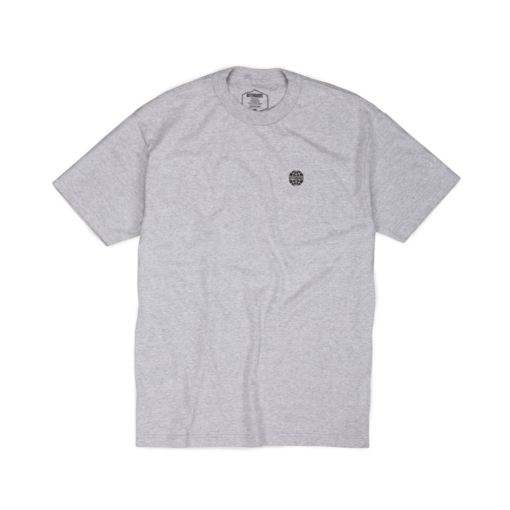 Butter Minimal Worldwide Logo T-shirt - Heather Grey