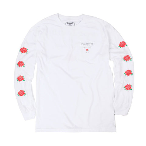 Butter Goods No 13 Long Sleeved Tee - White