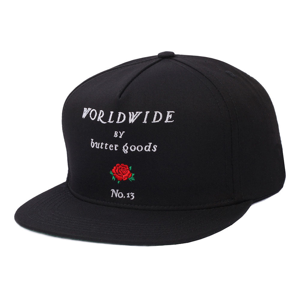 Butter Goods No. 13 Snapback Hat - Black