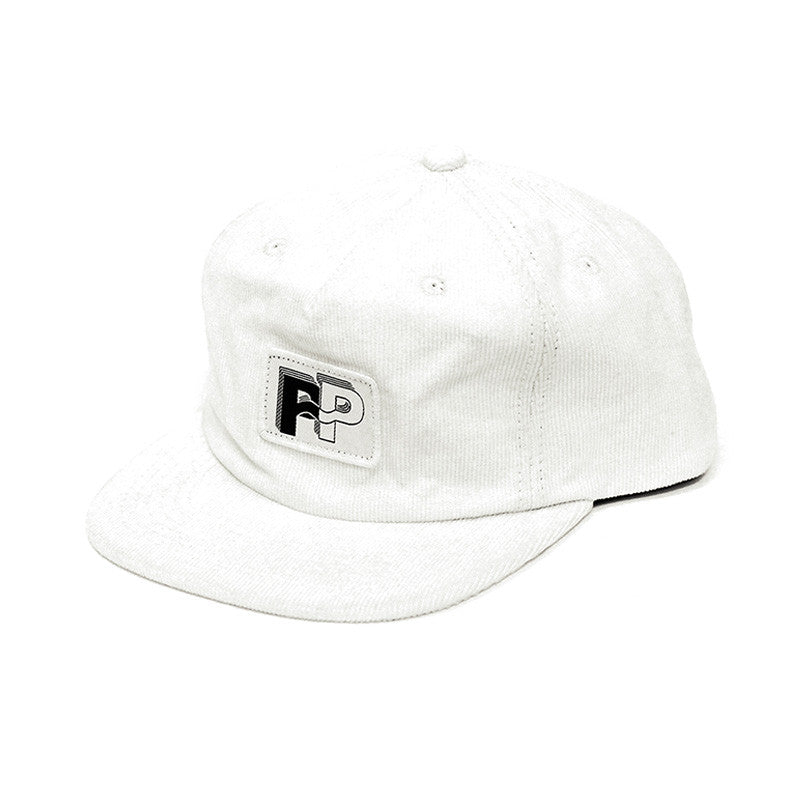 Pass Port Nue P~P Corduroy Hat - White