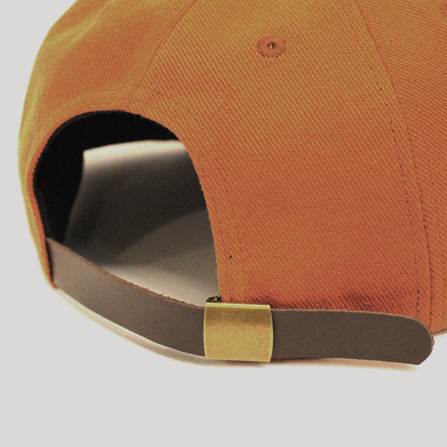 Pass Port Canvas Pp Hat Orange Permanent
