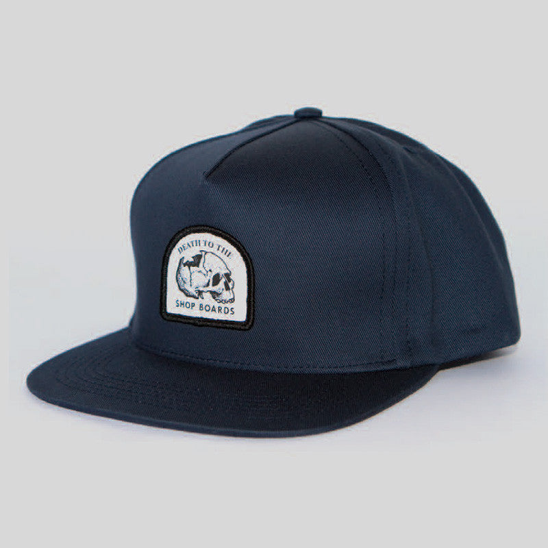 Passport Death To Snapback Hat (Navy)