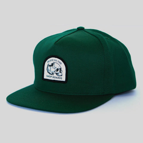 Passport Death To Snapback Hat (Emerald Green)