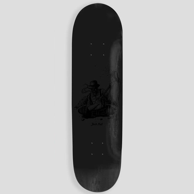 PassPort Josh Pall Works Skateboard Deck - Black