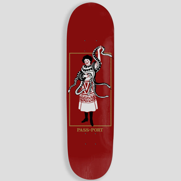 "PassPort Wild Women ""Her Snakes"" Skateboard Deck"