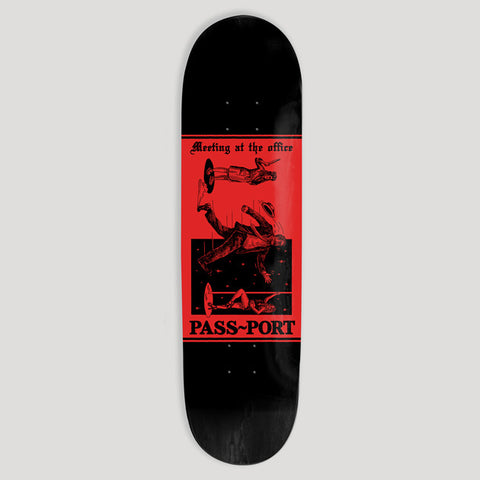 Pass~Port Skateboards Mixed Messages Office Deck