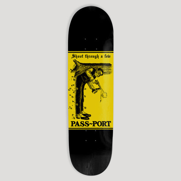 Pass~Port Skateboards Mixed Messages Shoot Deck