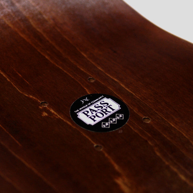 Pass Port Closing Time Skateboard Deck