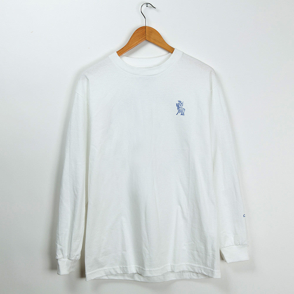 Permanent Co-op x Village Psychic Long Sleeve Tee - White