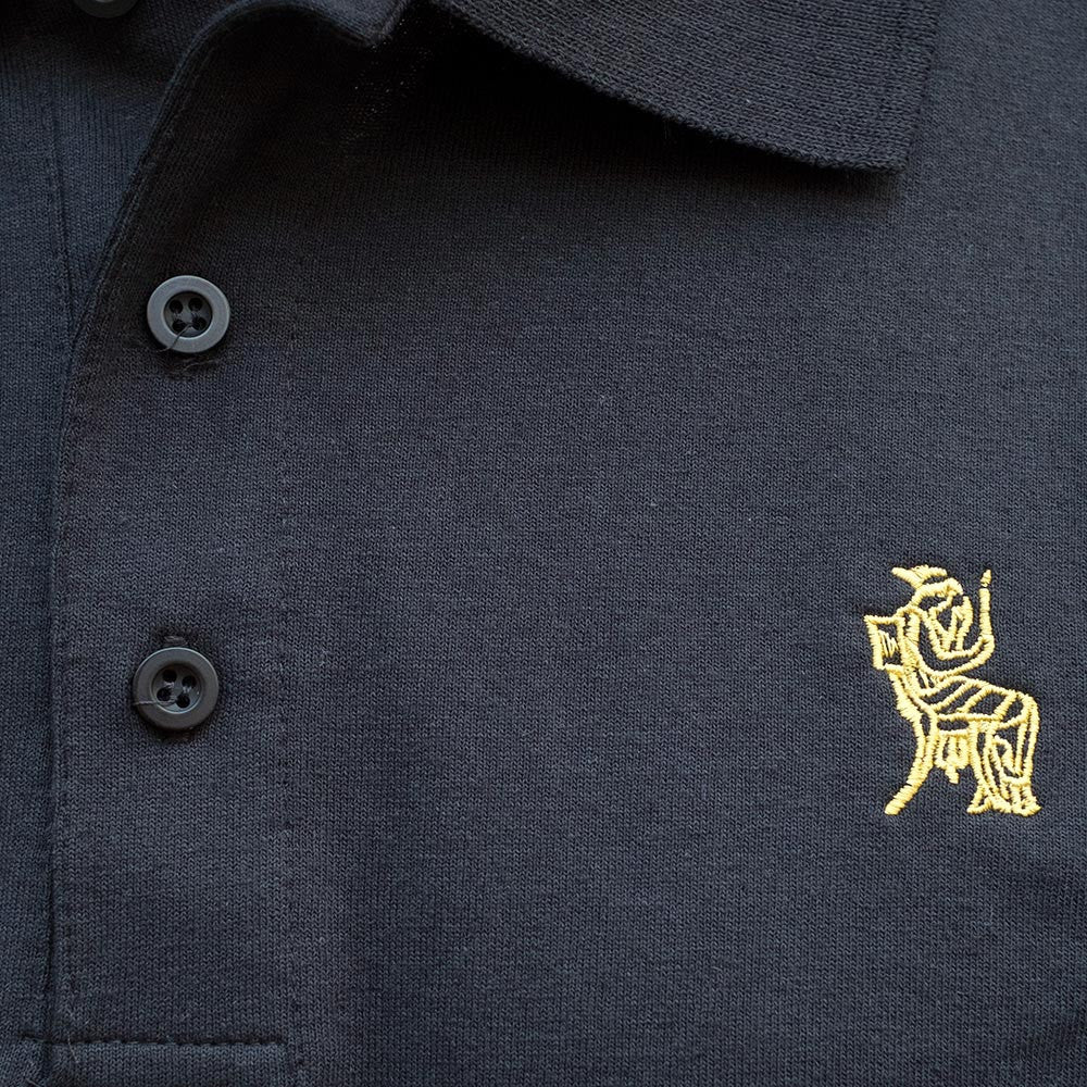 Permanent Co-op x Village Psychic Polo Shirt - Black