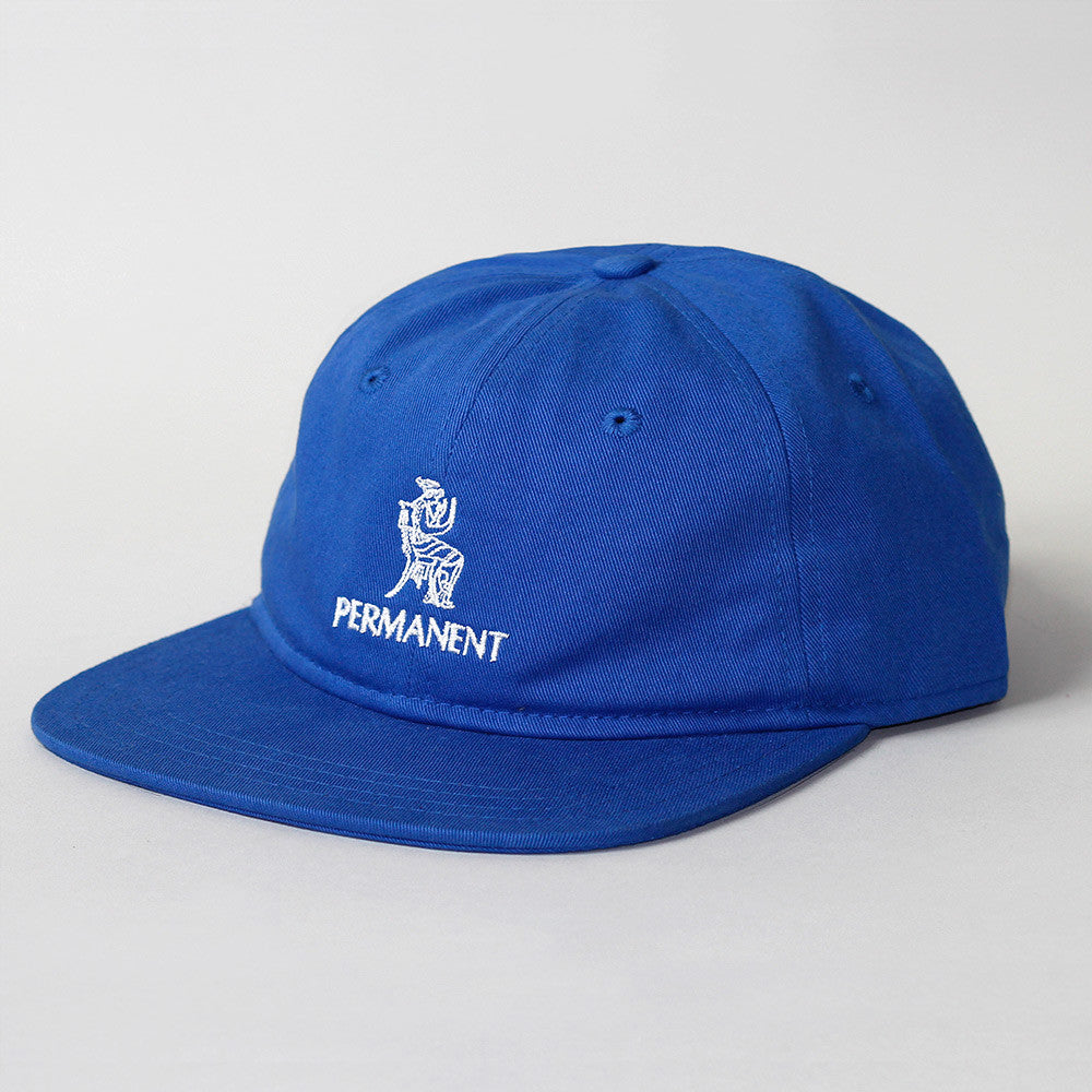 Permanent x Village Psychic 6 Panel Hat - Blue