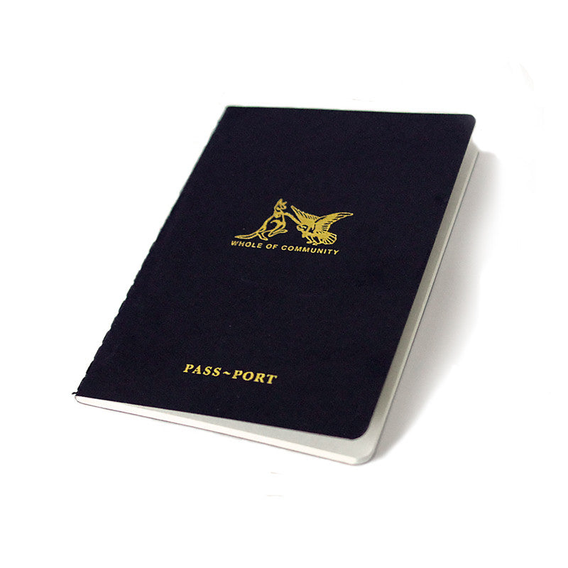 Passport Pocket Friend Notebook