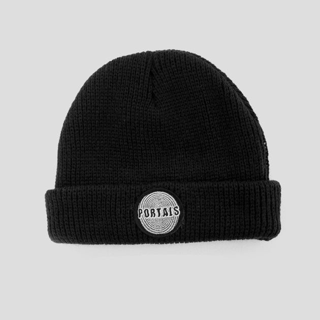 Passport Portals Beanie - Black