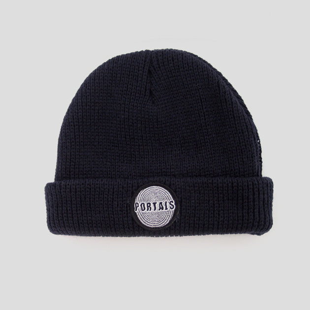 Passport Portals Beanie - Navy