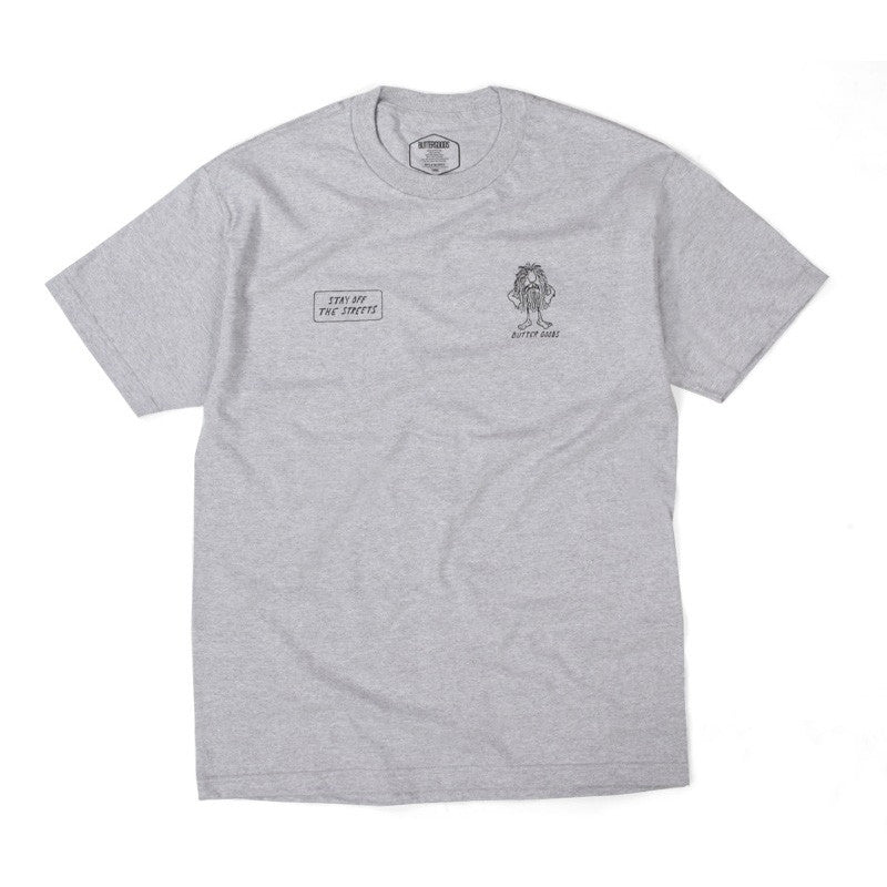 Butter Goods PSA Tee - Heather Grey