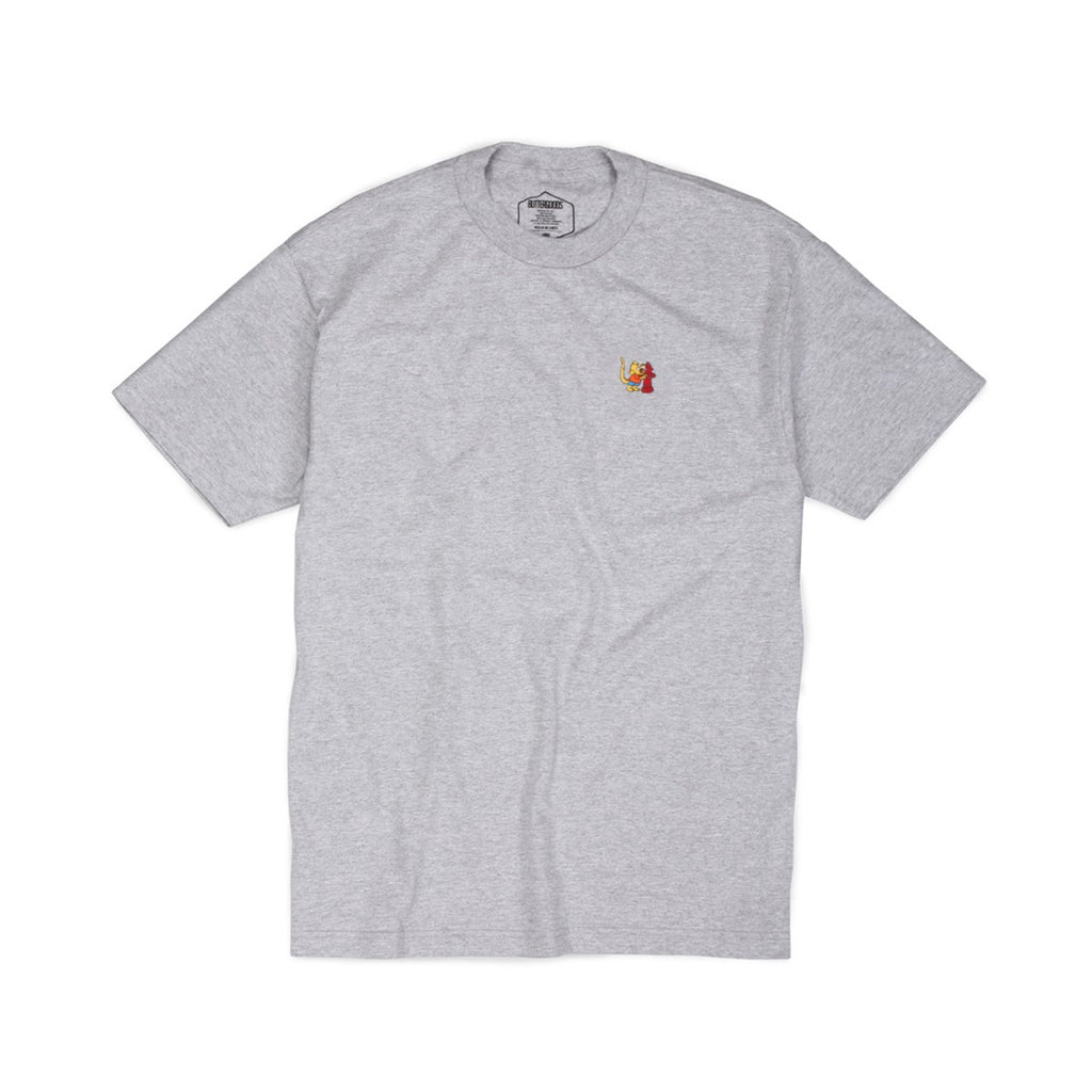 Butter Goods Rat Boy T-shirt - Heather Grey
