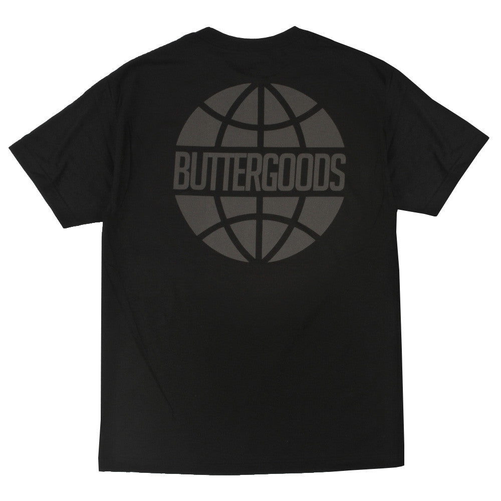 Butter Goods Worldwide Reflective Logo - Black