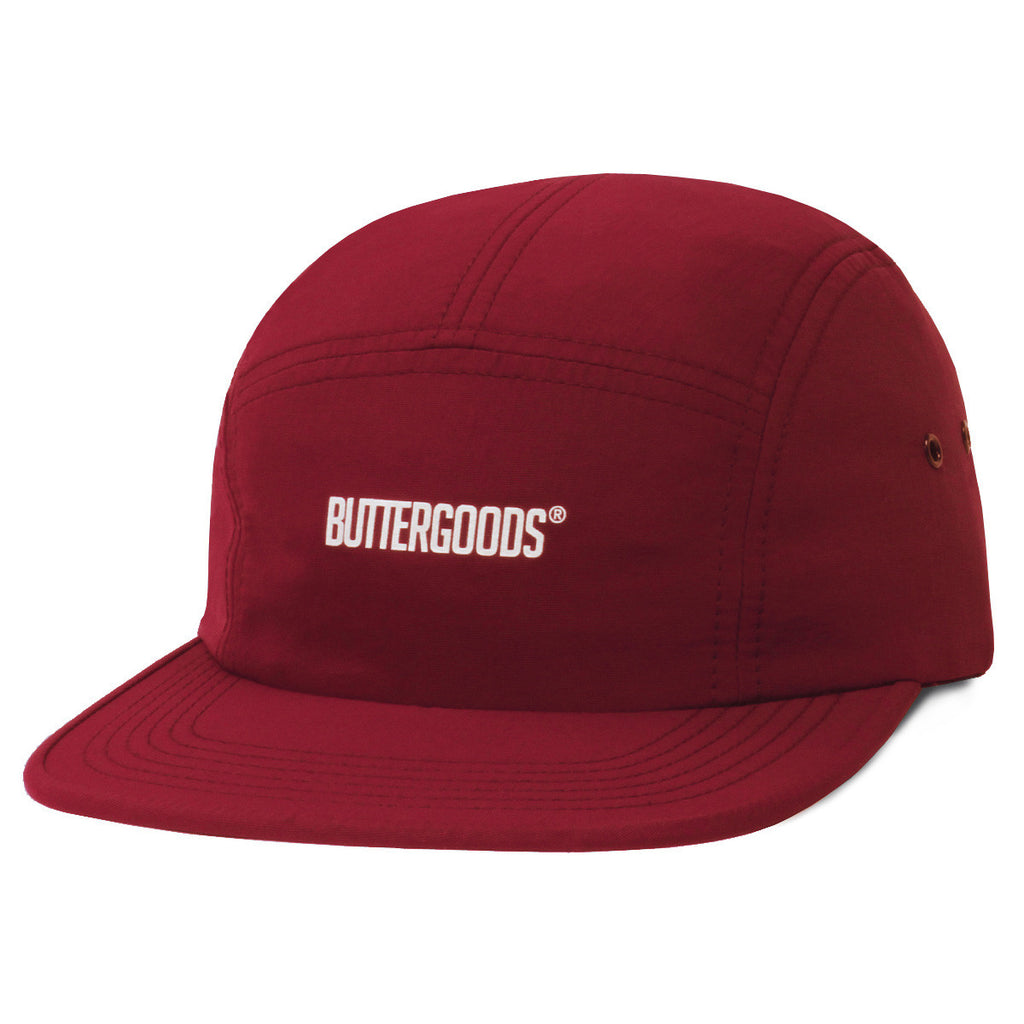 Butter Goods Registered 5 Panel Hat - Black