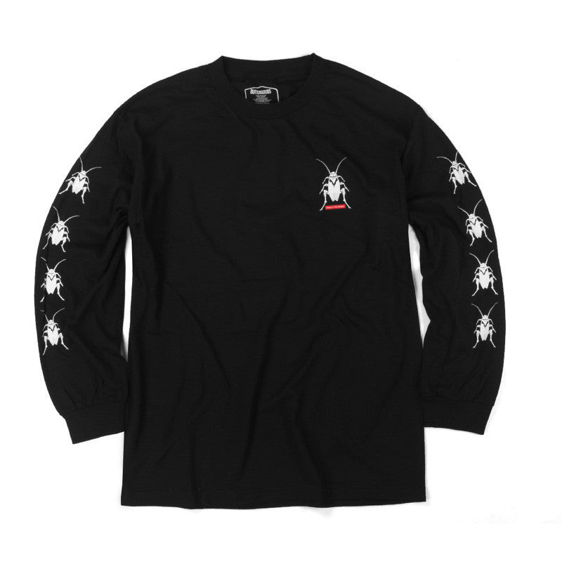 Butter Goods Roach L/S Tee Shirt - Black
