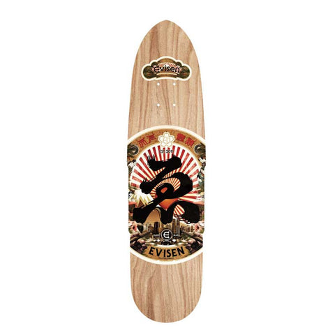 Evisen Skateboards Sake Series Cruiser Deck