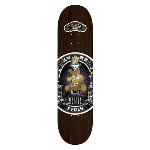 Evisen Skateboards Sake Series Black Deck