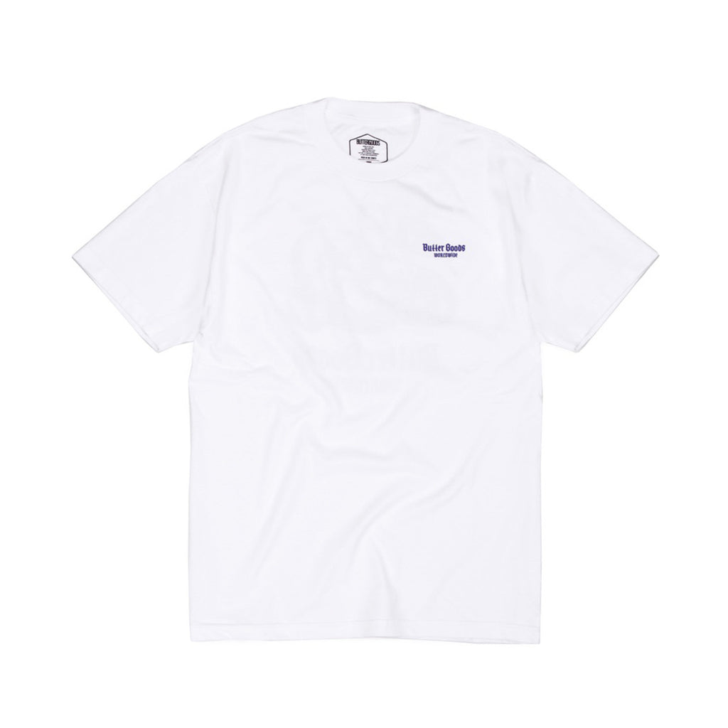 Butter Goods Serpent T-shirt - White