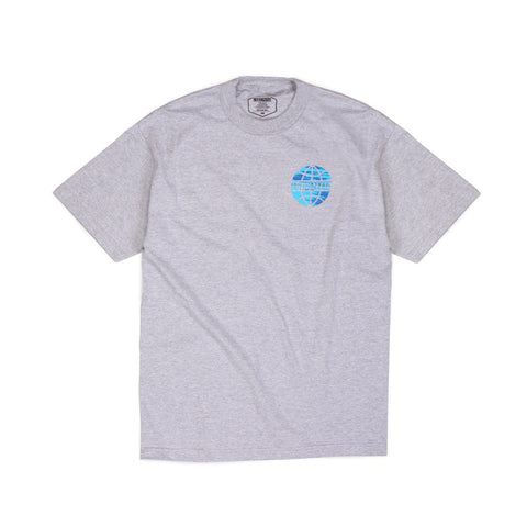 Butter Sports Worldwide Logo T-shirt - Heather Grey
